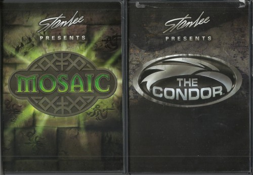 Mosaic and The Condor DVDs