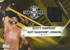 Scott Dawson Mat Card Gold Parallel
