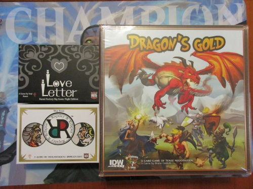 Dragon's Gold Love Letter RandR
