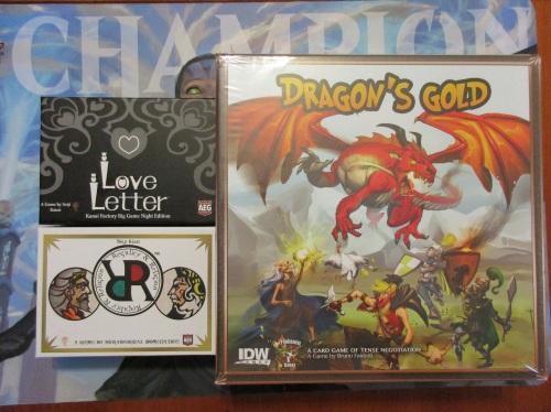 Dragon's Gold Love Letter RandR