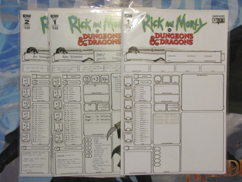 Rick and Morty Dungeons and Dragon Comics