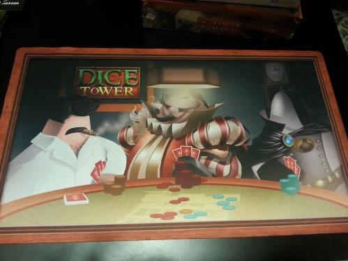 Dice Tower Playmat