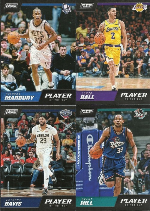 2018-19 Panini NBA Player of the Day