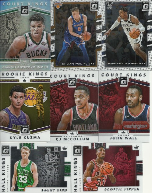 2017 18 Donruss Optic Basketball Cards