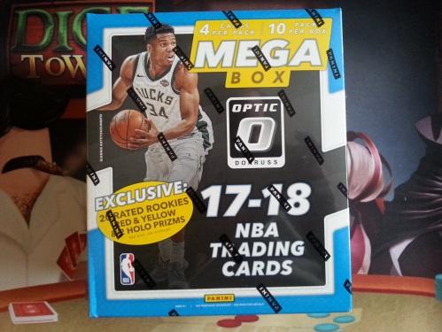 2017 18 Donruss Optic Basketball Mega Box