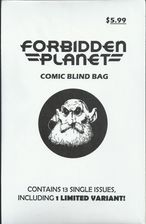 Comic Book Blind Bag from Forbidden Planet