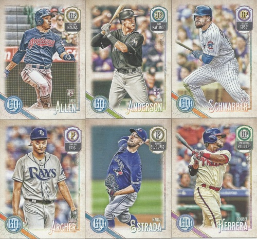 2018 Gypsy Queen Baseball Cards
