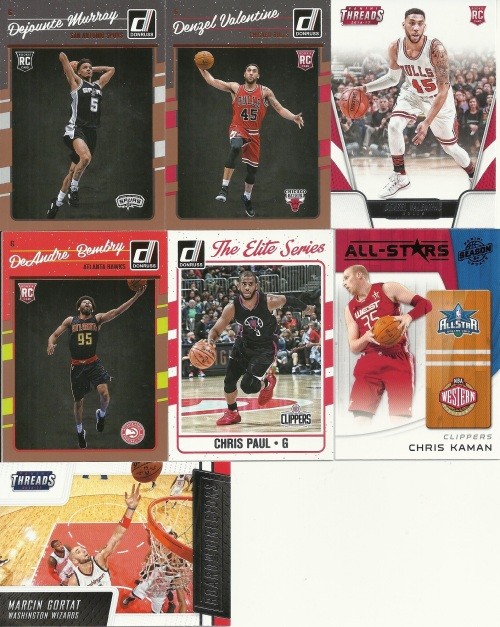 Repack Basketball Card Pulls