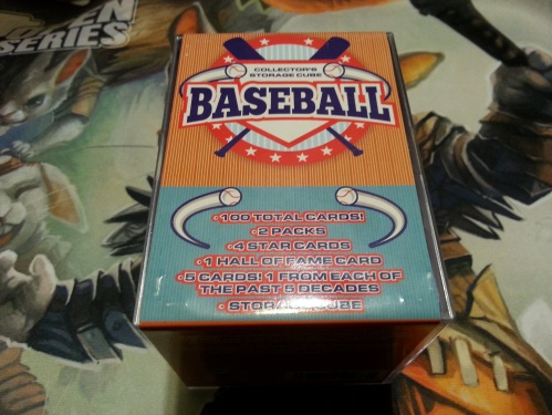 Baseball Collectors Storage Cube Repack
