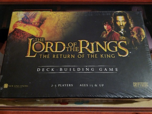 Lord of the Rings Deck Building Game