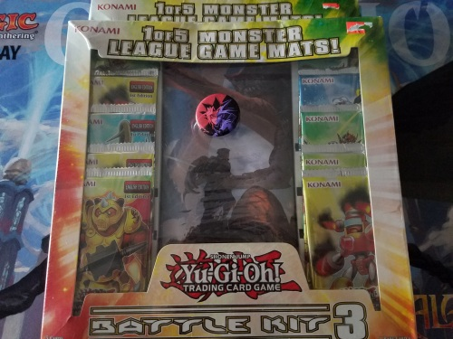 Yu Gi Oh Battle Pack and Pin