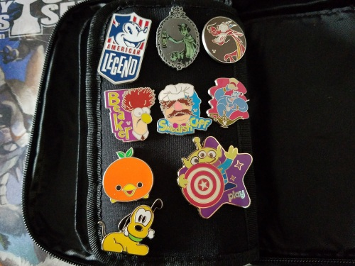 Disney Pin Collection (4)