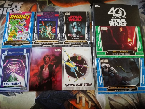 Topps Star Wars 40th Anniversary Cards