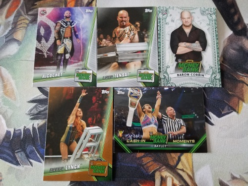 2019 Topps WWE Money in the Bank