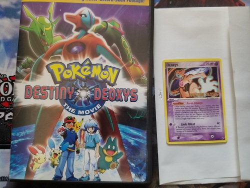 Pokemon Destiny Deoxys DVD
