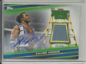 Xavier Woods Auto Mat Card