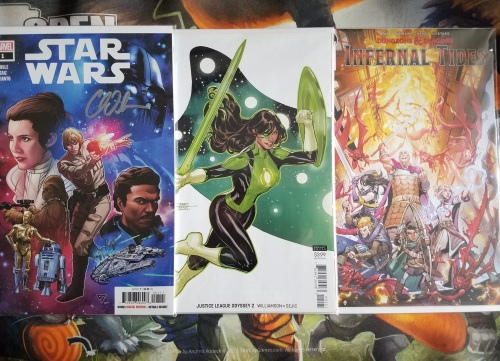 Star Wars Justice League Odyssey D&D Comics