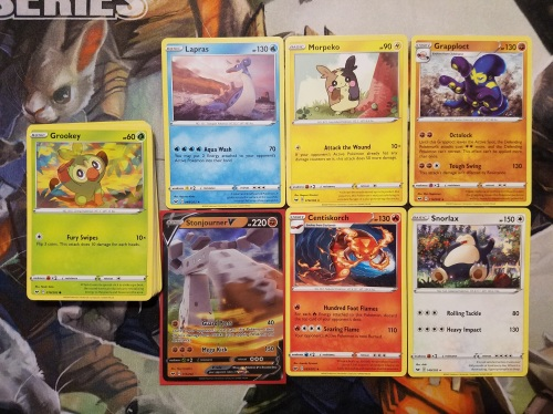 Pokemon TCG Sword and Shield Cards