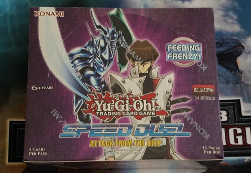 Yu Gi Oh Speed Duel Attack from the Deep Box