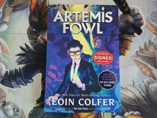 Artemis Fowl Signed Book