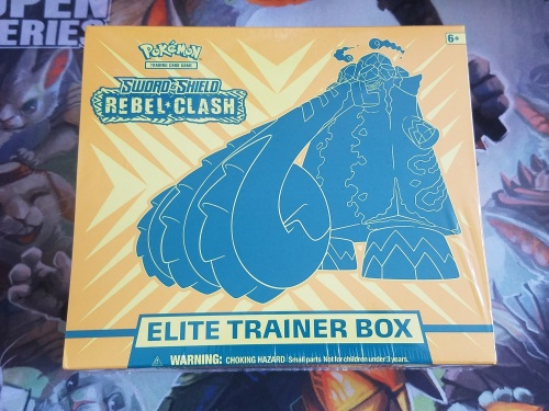 Sword & Shield Rebel Clash Pokemon TCG Elite Trainer Box