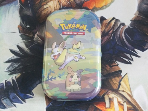 Pokemon TCG Galar Pal Yamper & Morpeko Mini Tin
