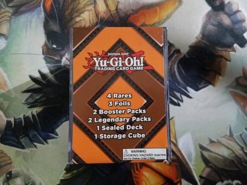 Yu Gi Oh Repack Storage Cube
