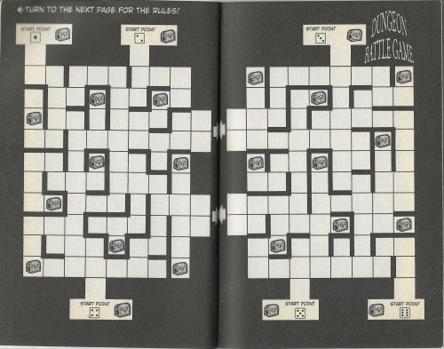 Dungeon Battle Game Board