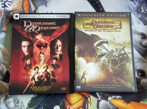 Dungeons & Dragons DVDs