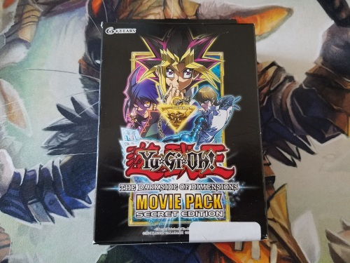 Yu-Gi-Oh The Dark Side of Dimensions Movie Pack Secret Edition (1)