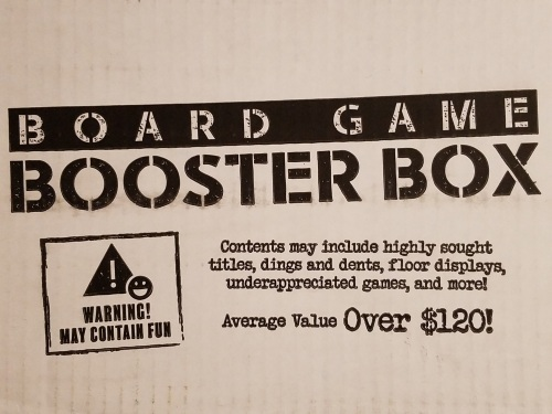 Board Game Booster Mystery Box