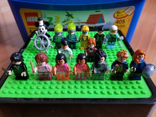 Lego Minifig Collection