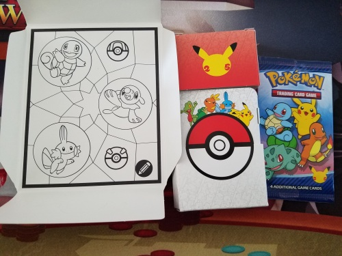 Whats in a McDonalds Pokemon Happy Meal
