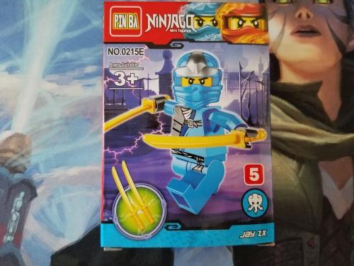 Lego Bootleg Pin Ba Ninjago Minifigure