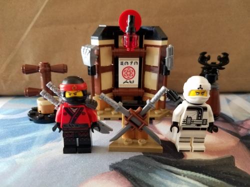 Lego Ninjago Spinjitzu Training