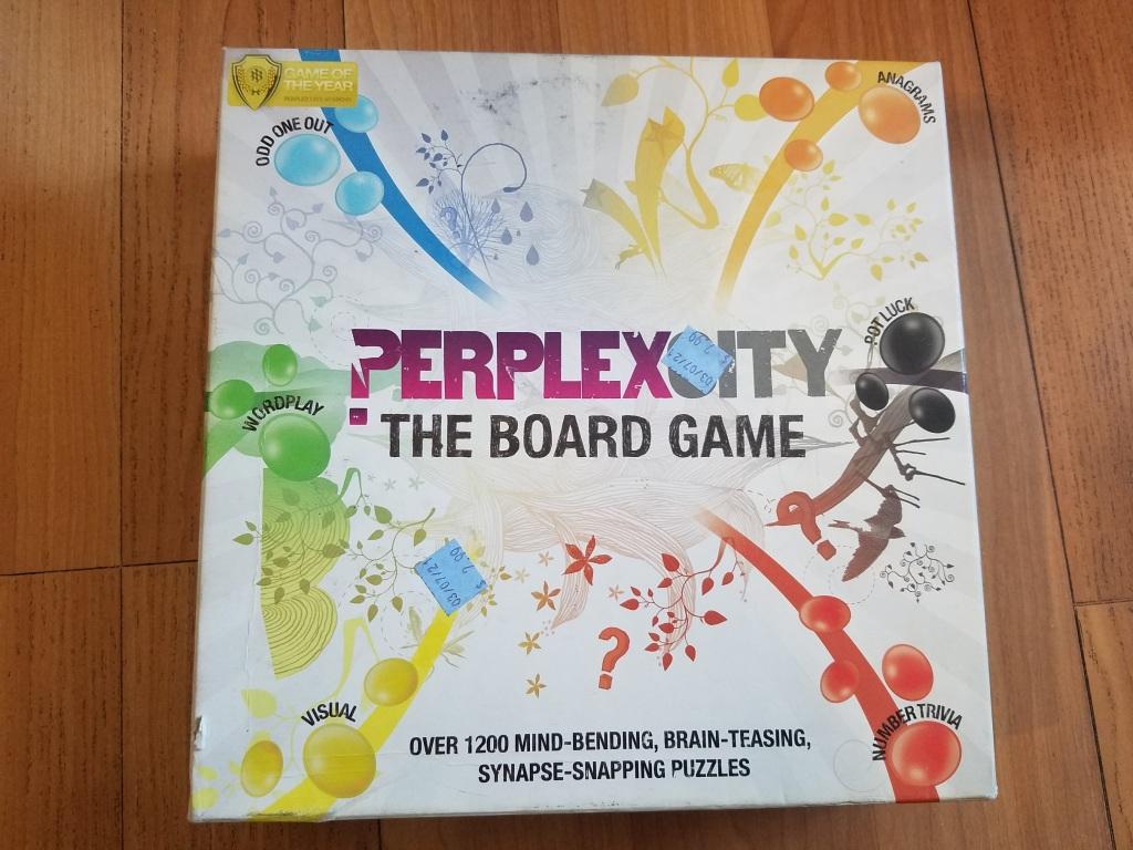 Perplex City Board Game