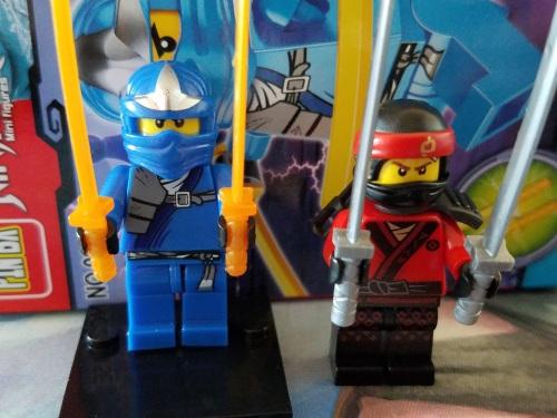 Real vs Fake Ninjago Minifigure